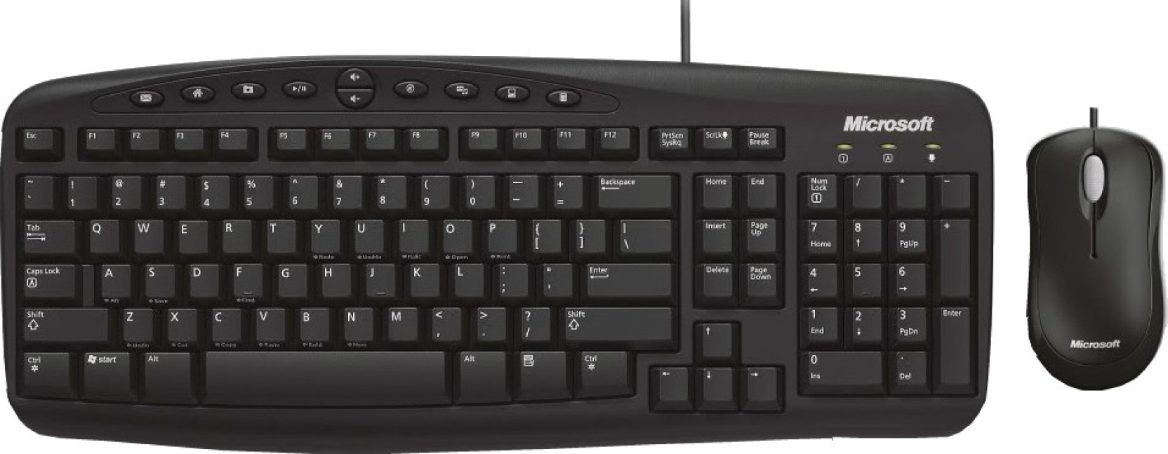 microsoft wired desktop 500 keyboard and mouse combo microsoft. Black Bedroom Furniture Sets. Home Design Ideas