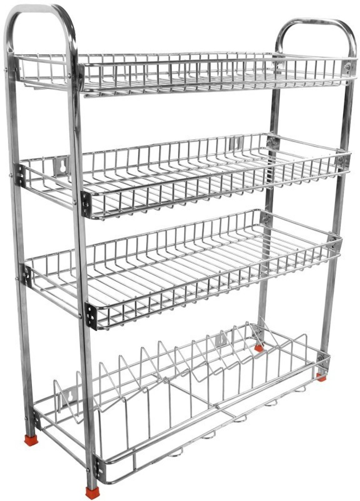 Balaji enterprises mudular stainless steel kitchen rack steel