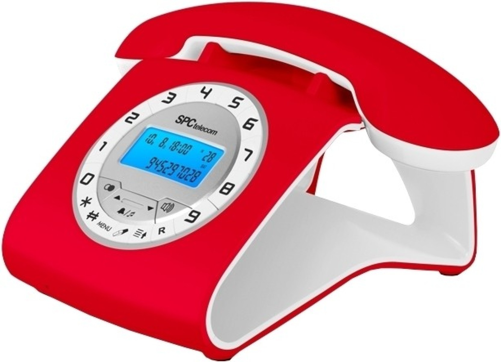 Spctelecom 3606r retro elegance corded landline phone price in india buy spctelecom 3606r - Telefono fisso design ...
