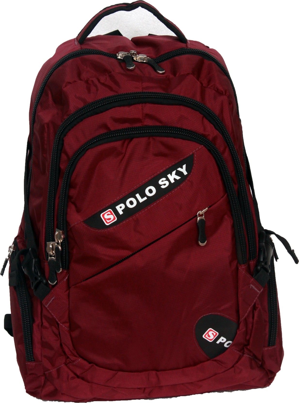 POLO SKY 19 inch Laptop Backpack Red C104 Price in India