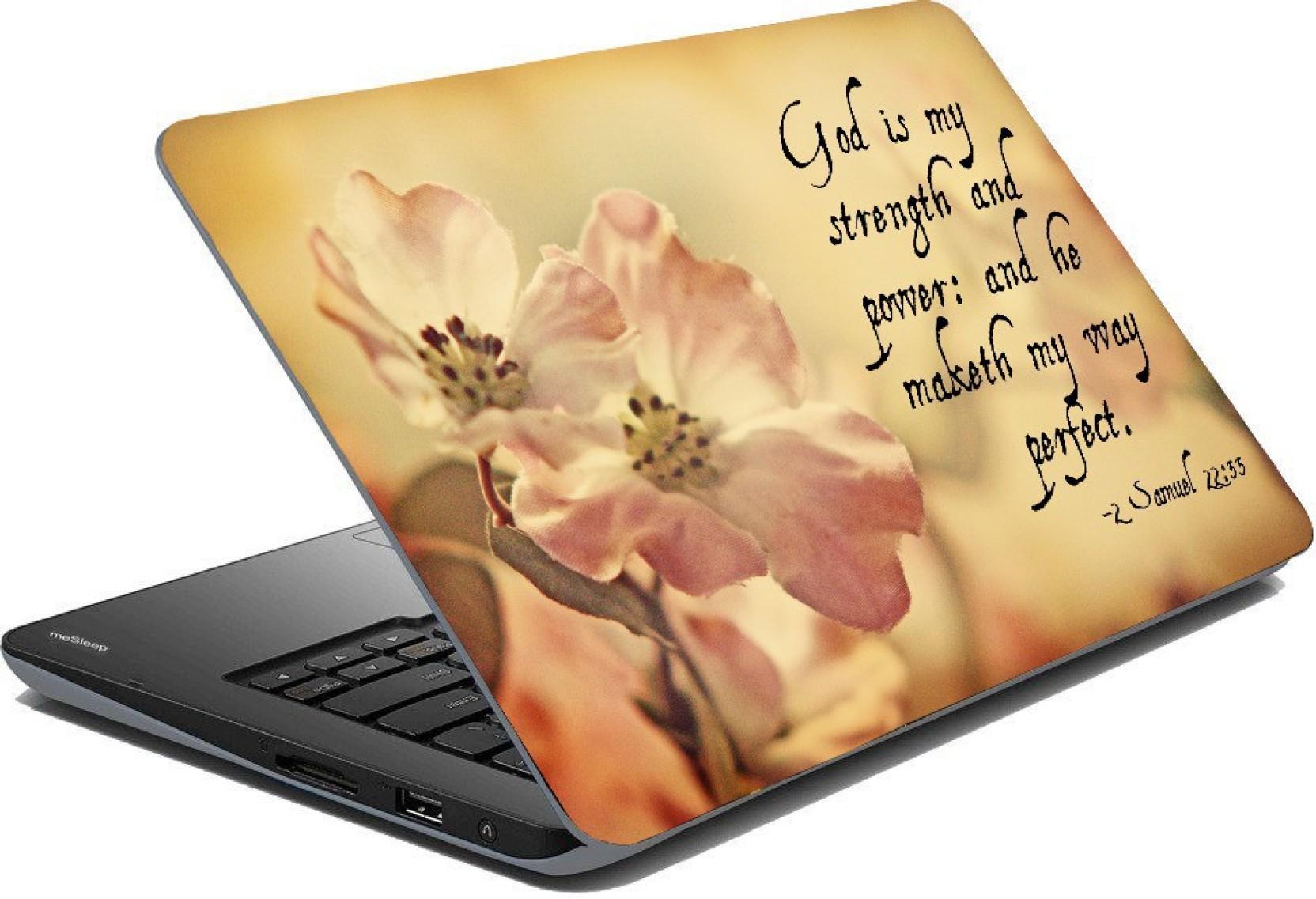 Posterhunt SVPNCA22048 The Bible Verse Samuel Quote Laptop
