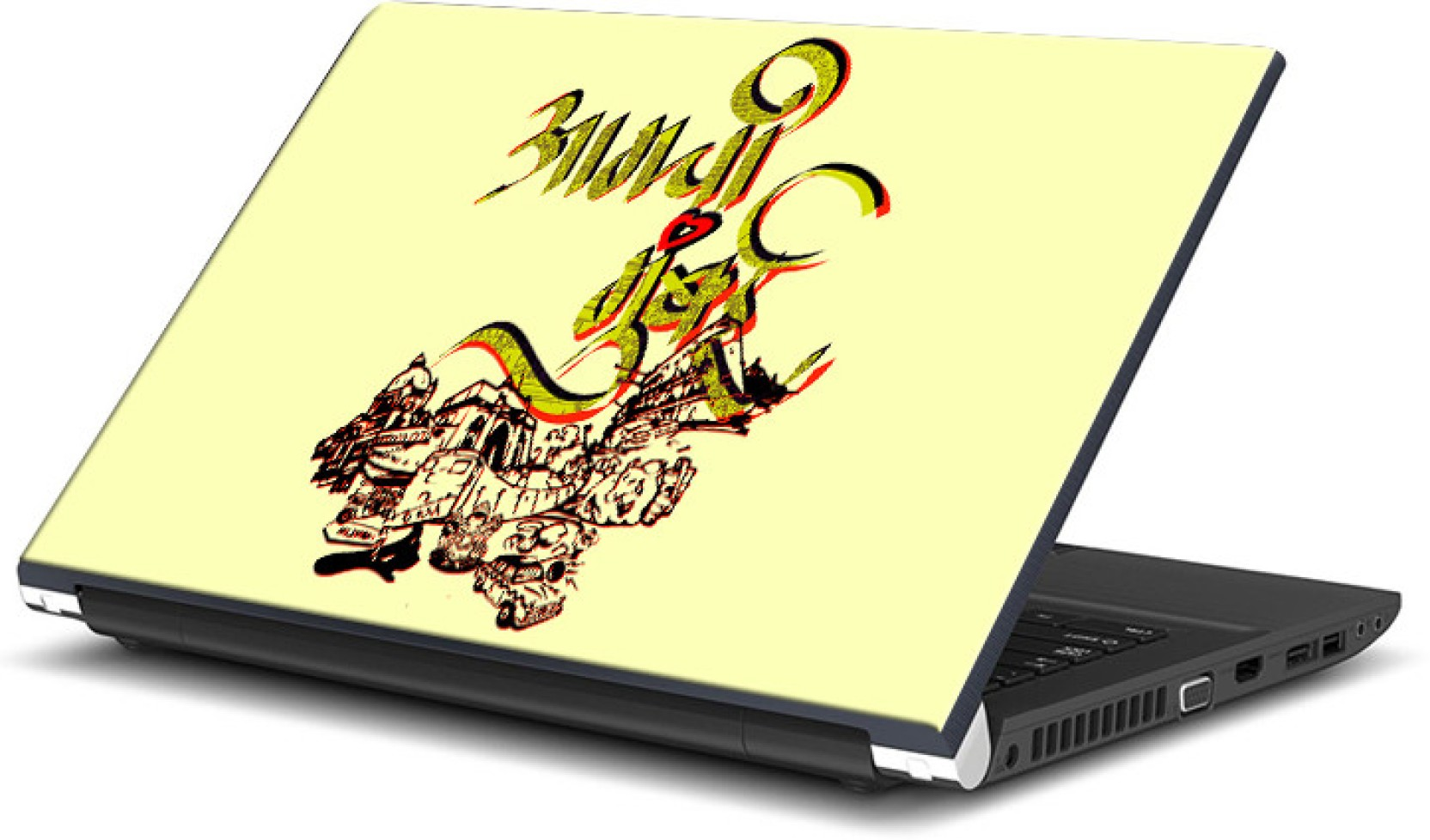 Mumbai vinyl laptop decal 15 6 share