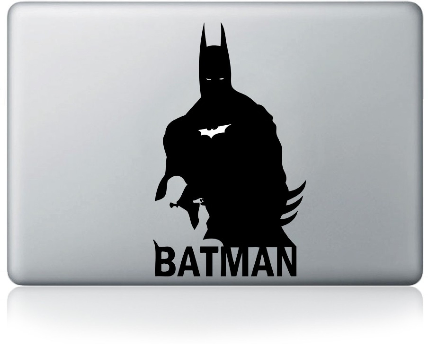 Batman Writing Custom Stickers