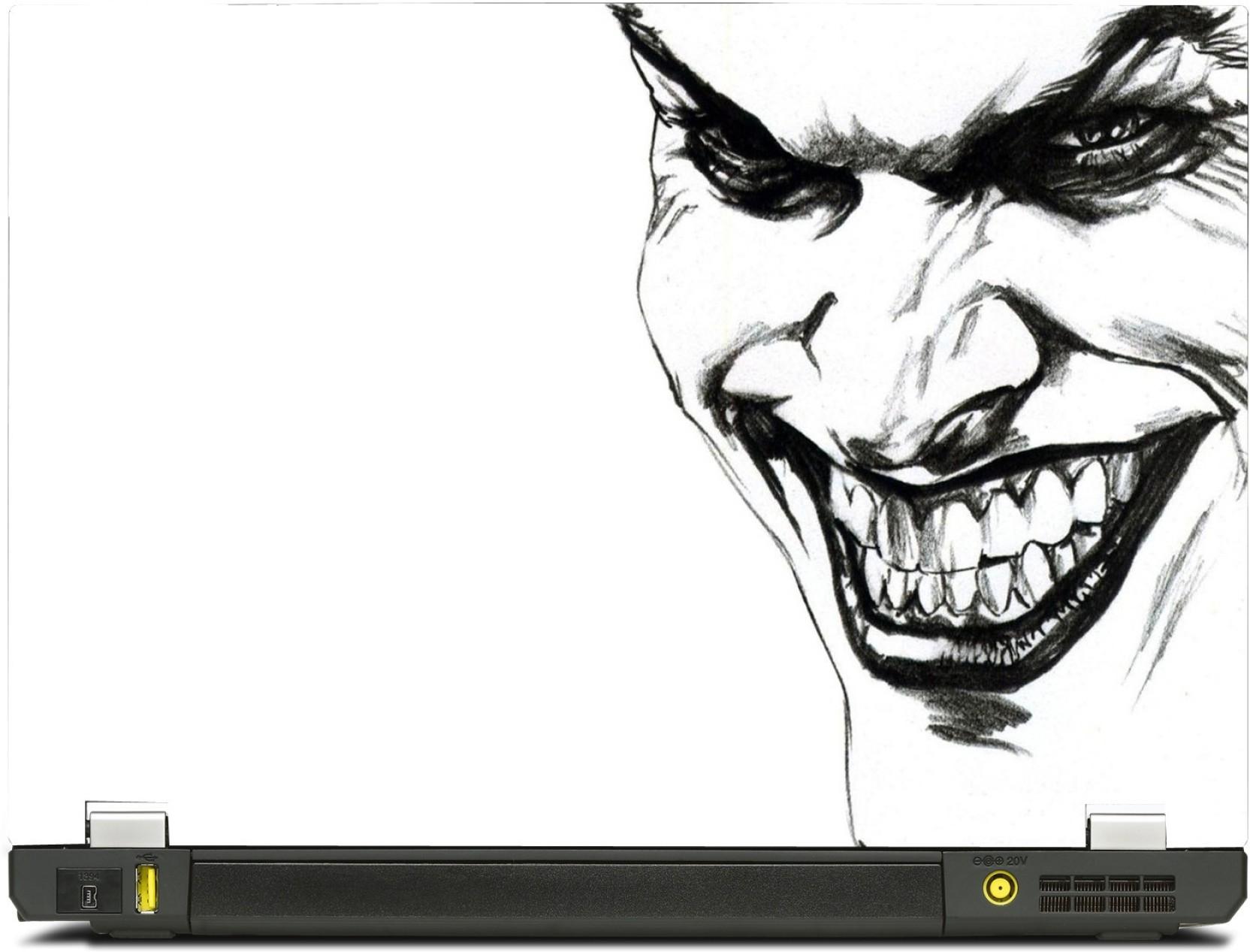 Skinkart Joker Face Sketch Vinyl Laptop Decal 101 Price In India