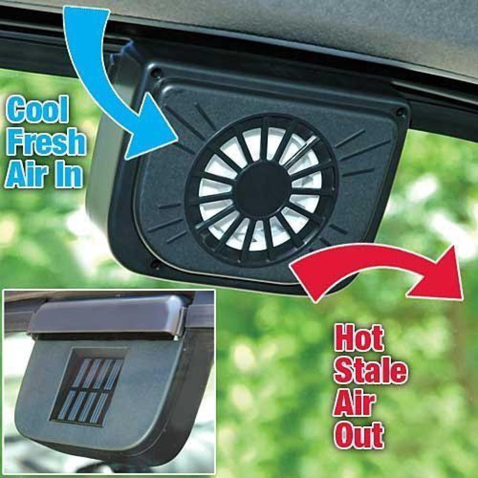 Autocool Solar Power Car Fan Price In India Buy Auto Cool On Offer