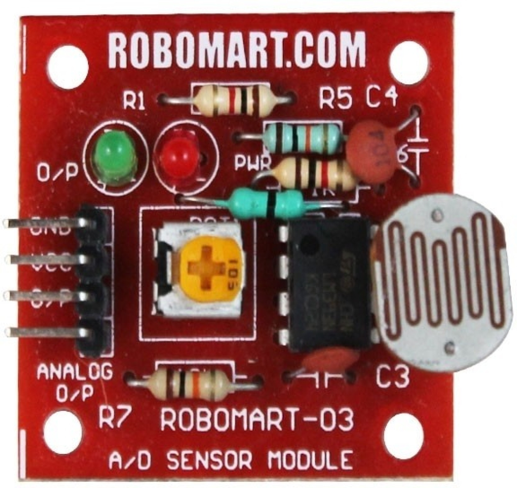 Robomart Light Sensor Ldr Big Price In India Buy Circuit With Share