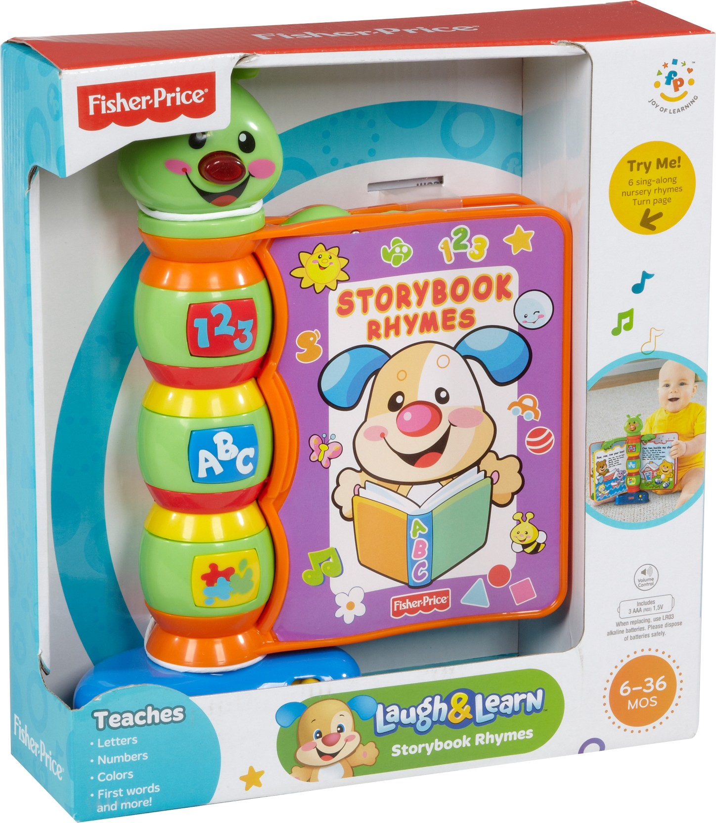 Fisher Price Laugh And Learn Story Book Rhymes Home