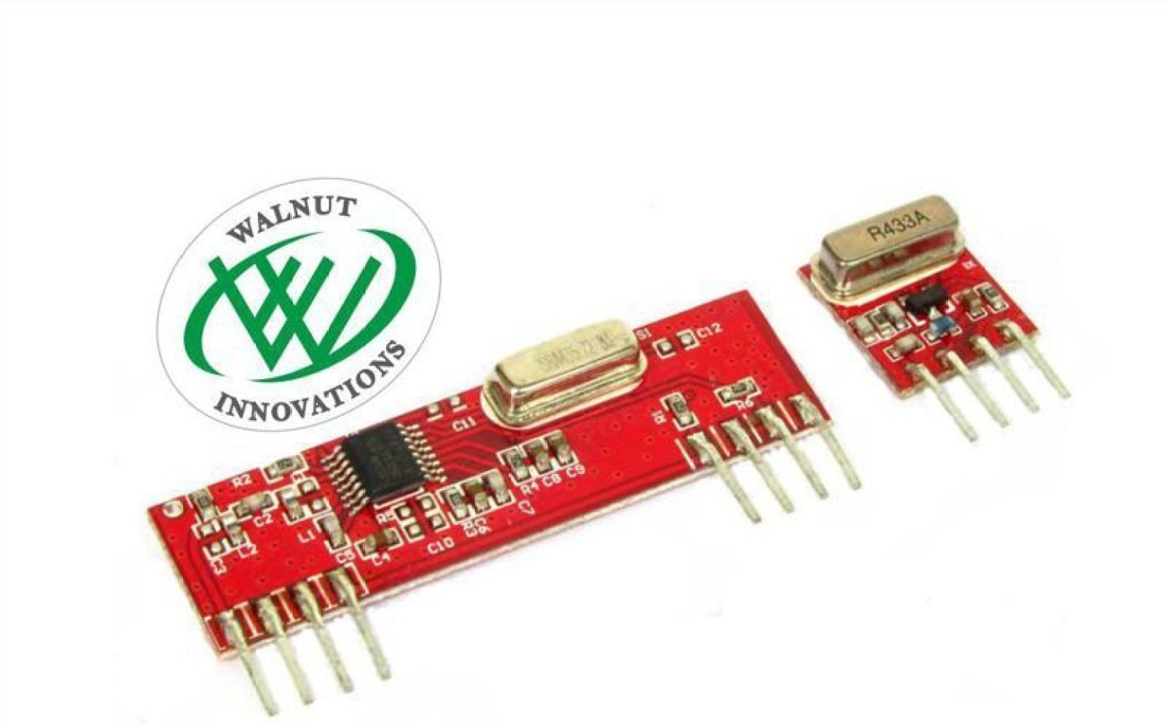 Walnut Innovations 433mhz Rf Wireless Transmitter Receiver Module Pair Operating At 433 Mhz Add To Cart