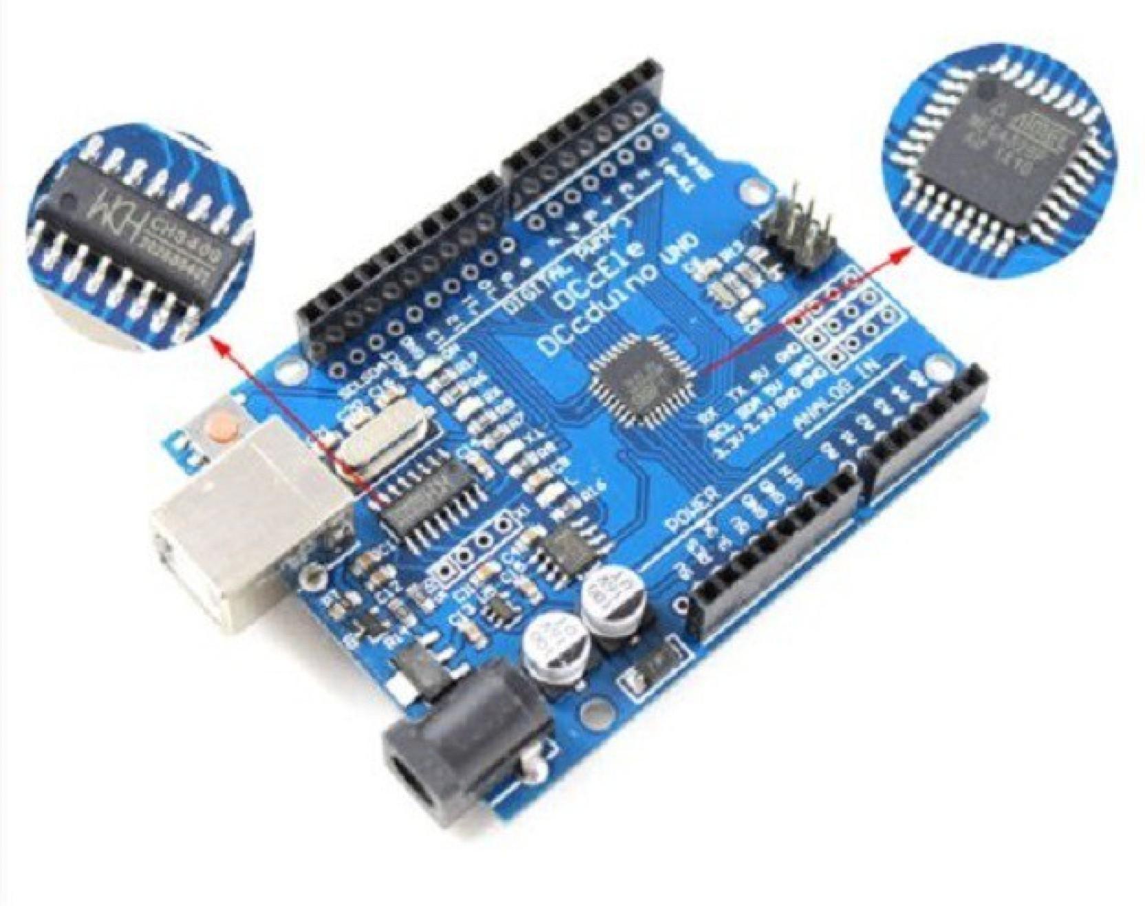 Xcluma Arduino Uno R3 Compatible Board Atmega328p Ch340g No Usb How To Use Wtv020sd Music Module With Build Circuit Home