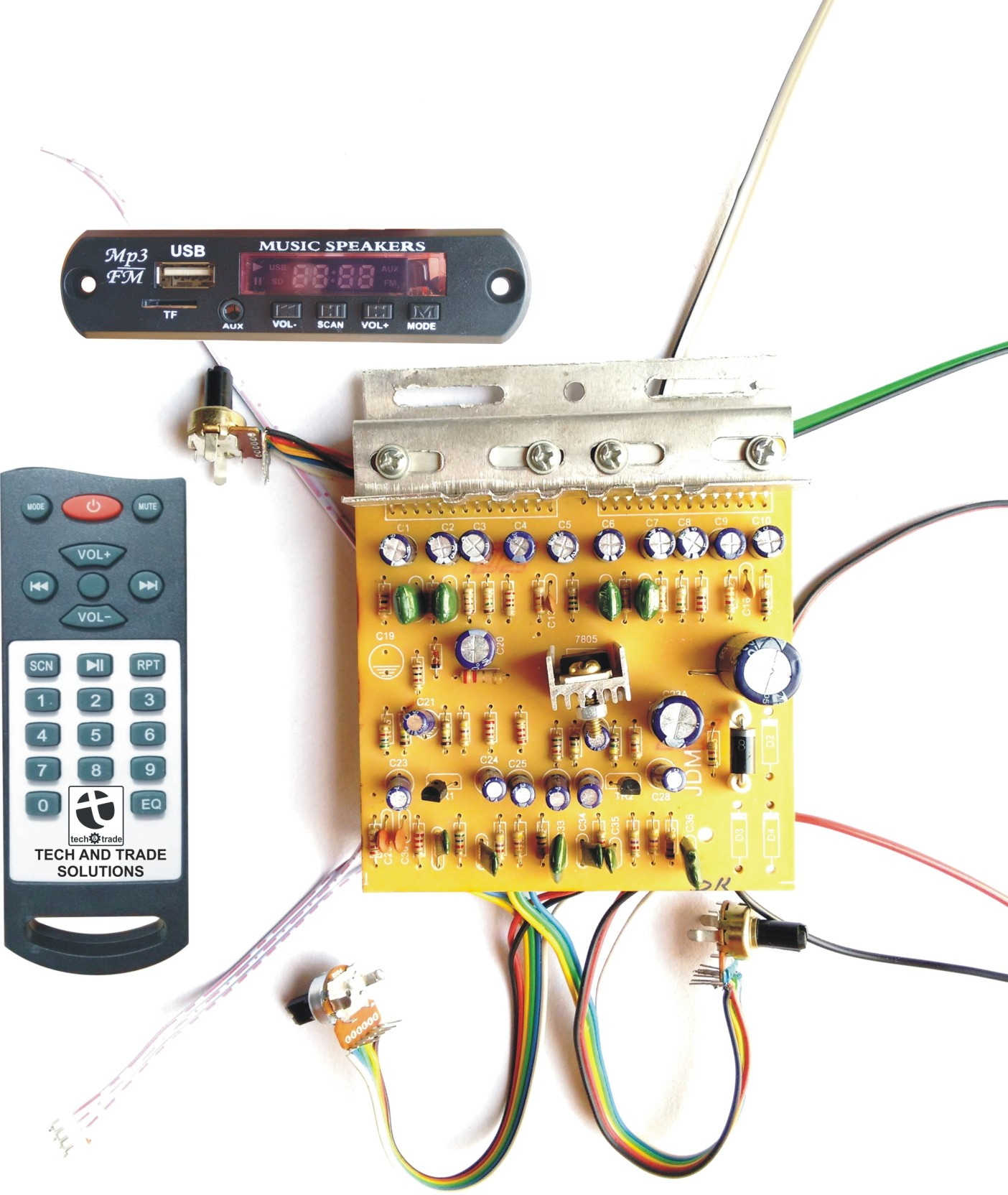 Tech And Trade 100w Diy Stereo Audio Amplifier Circuit Kit Board Electronic Wiring Add To Cart