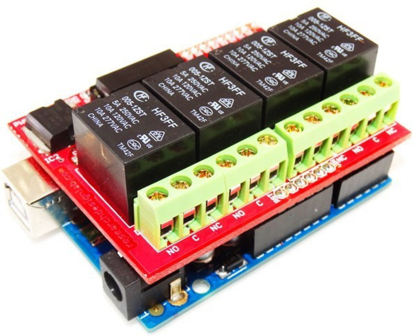 Rdl 4 Channel Relay Board 5v Compatible For Arduino Price In India Switch Buy Online Share