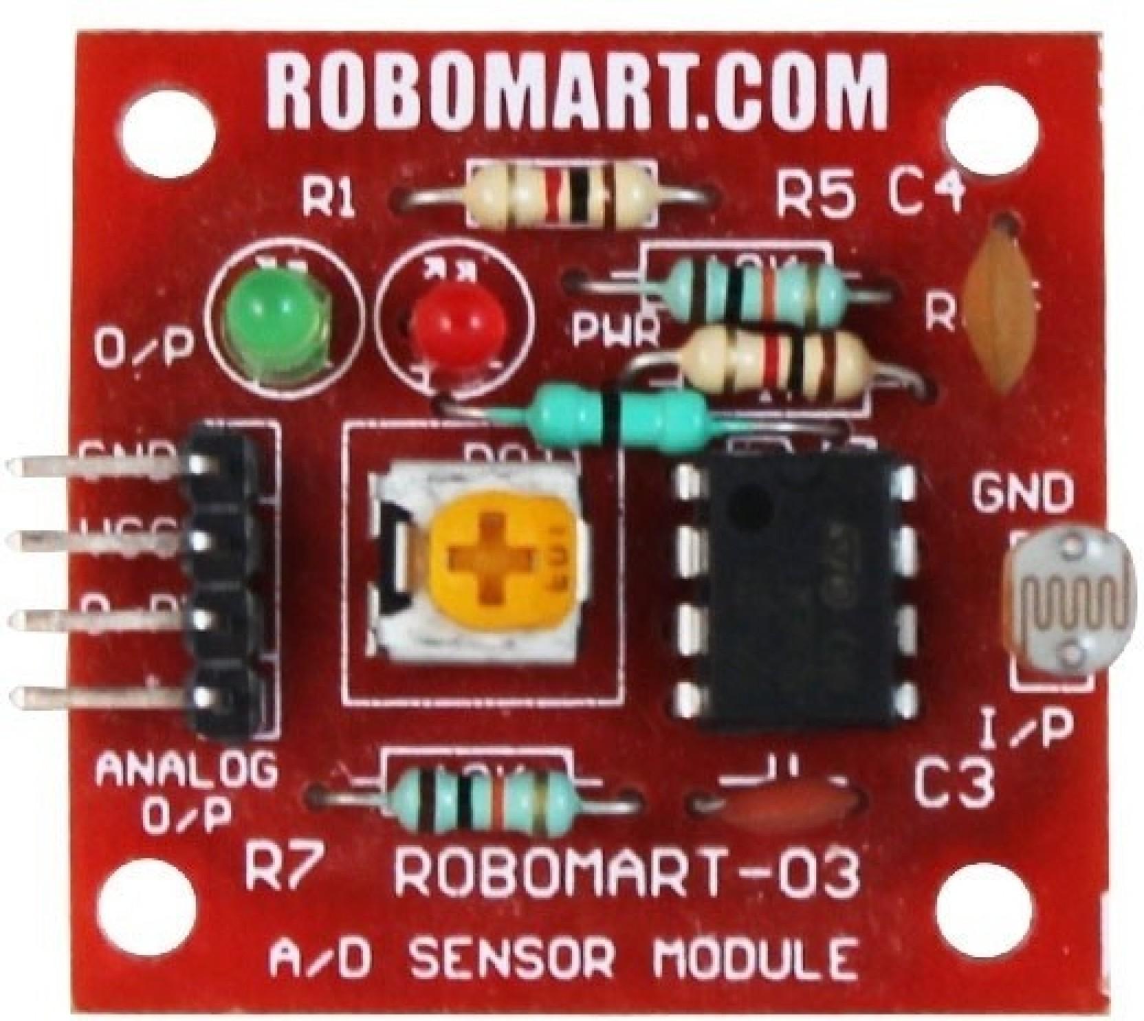 Robomart Light Sensor Ldr Small Price In India Buy Circuit Share