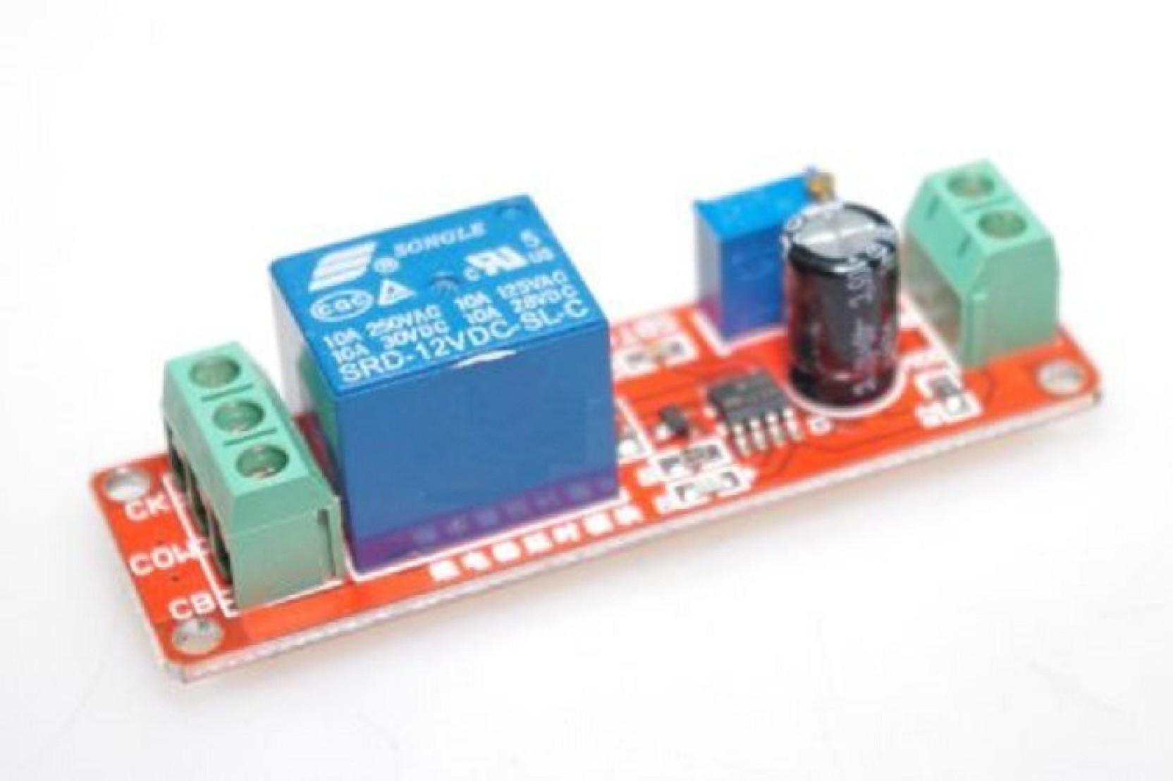 Xcluma Ne555 Dc 12v Digital Delay Timer Relay Module Adjustable 0 To Amplifier Auto Off Circuit Add Cart