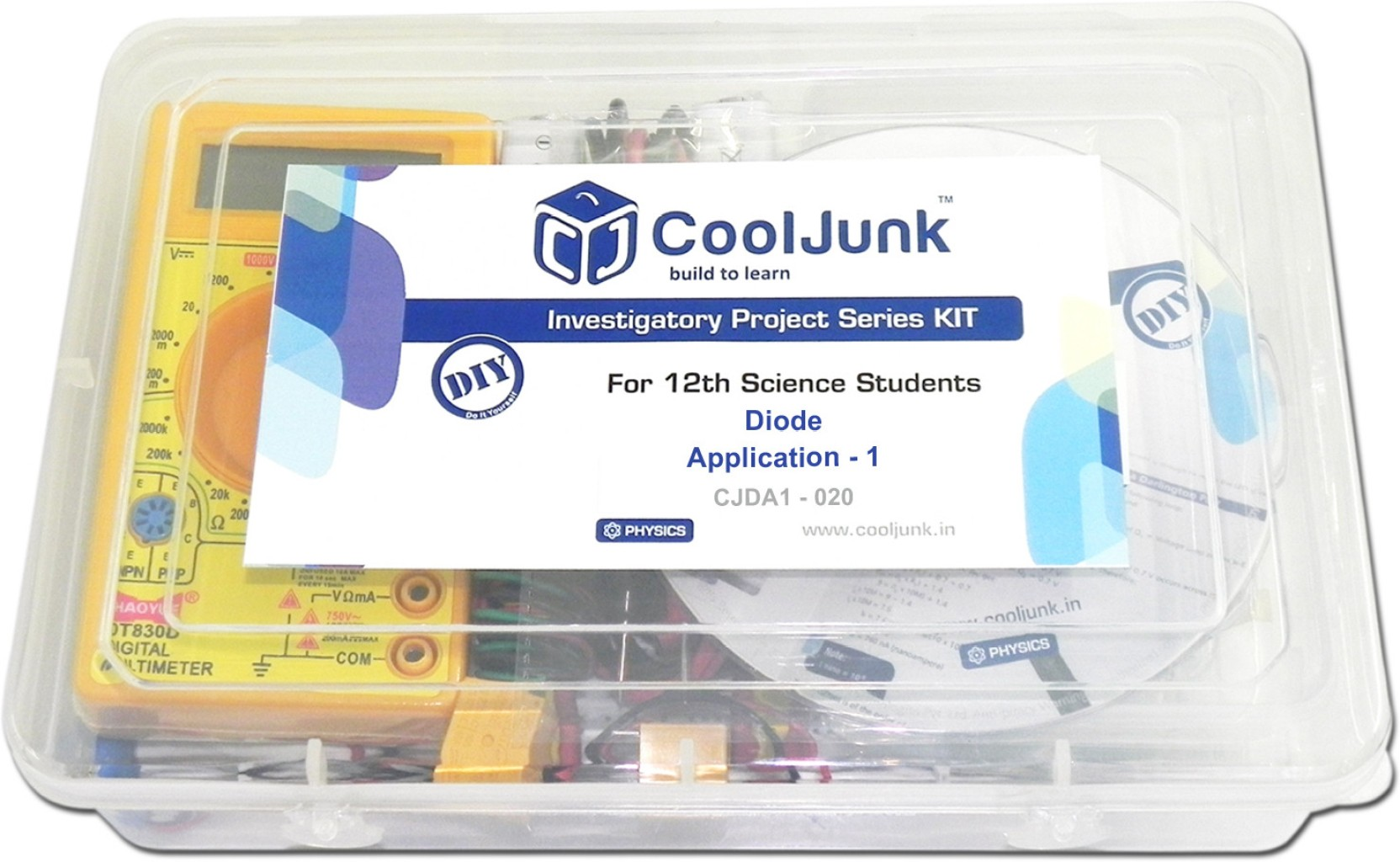 Cooljunk Physics Project Kit Full Wave Bridge Rectifier Price In Share