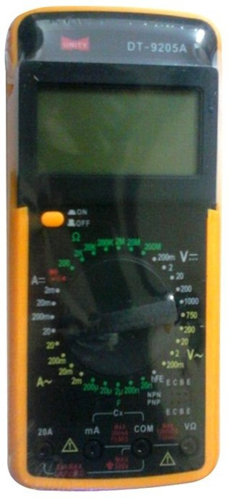 Unity Digital Multimeter Dt9205a Make Non Magnetic Electronic Level Dt830d Circuit Diagram Add To Cart