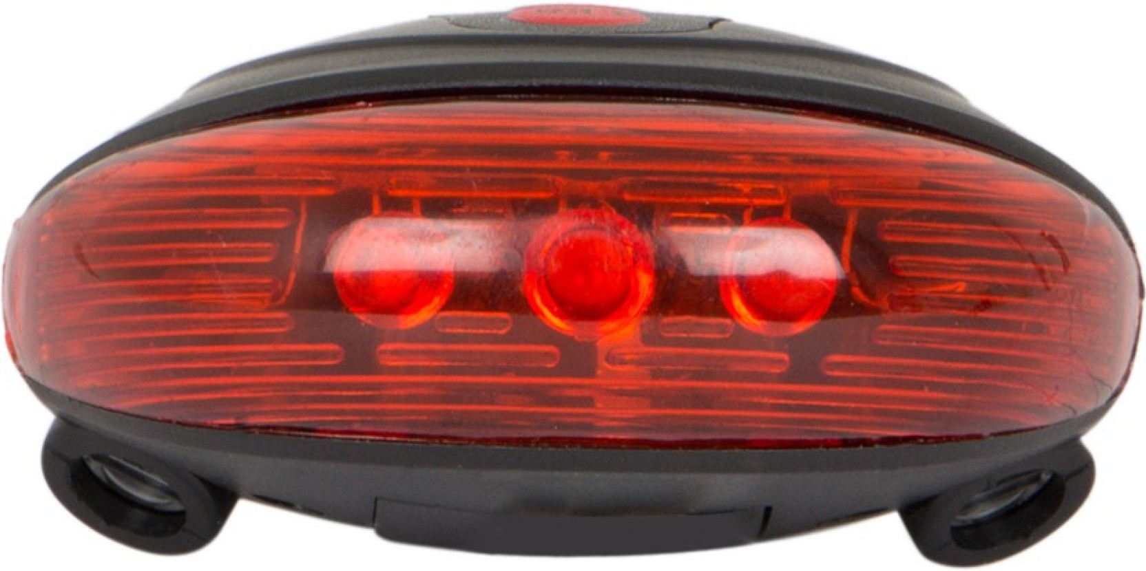 Veebo Bicycle Rear Tail Light Laser With 5 Led Flashing Break Home