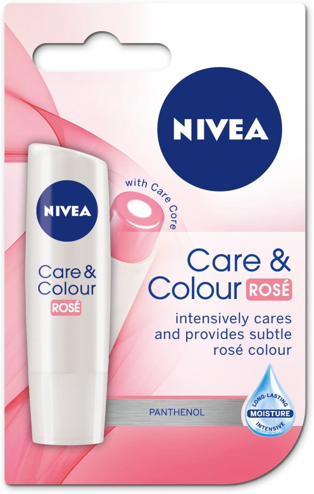 Nivea Lip Care Color Rose 48 Price In India Buy Balm 48g Home