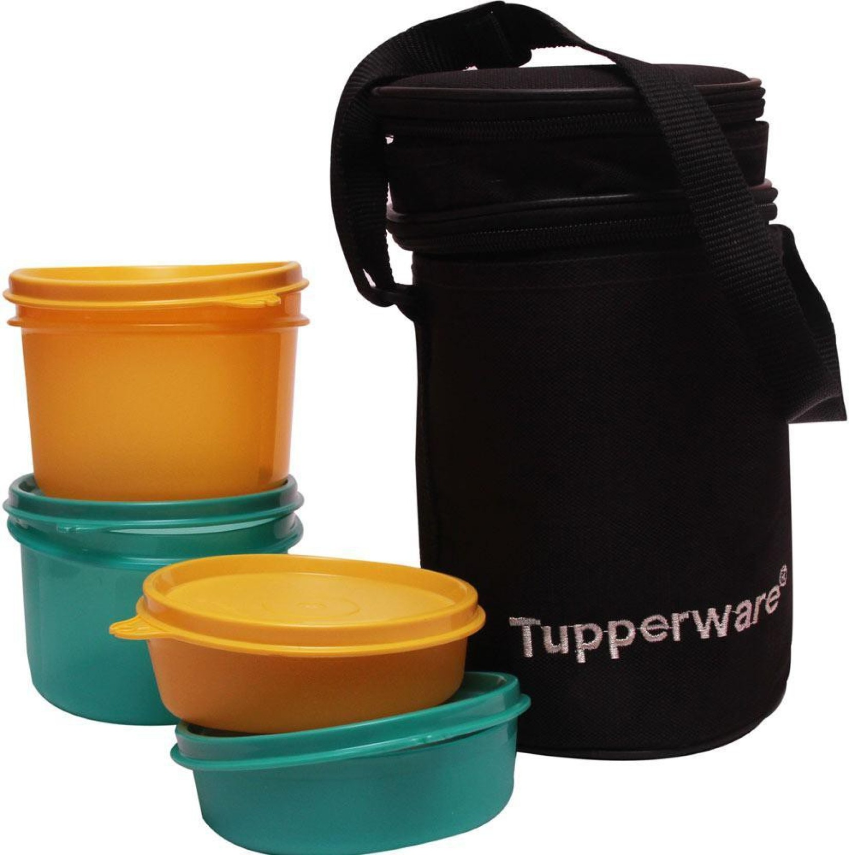 tupperware executive 4 containers lunch box. Black Bedroom Furniture Sets. Home Design Ideas