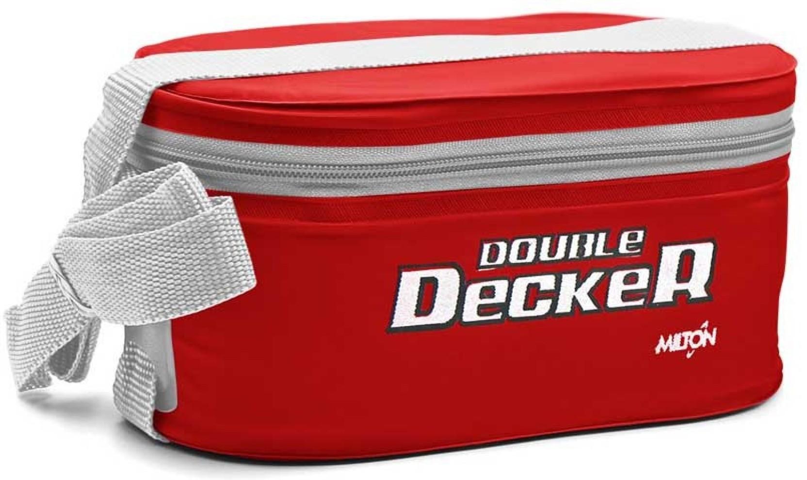 Flipkart Com Milton Double Decker 3 Containers Lunch Box