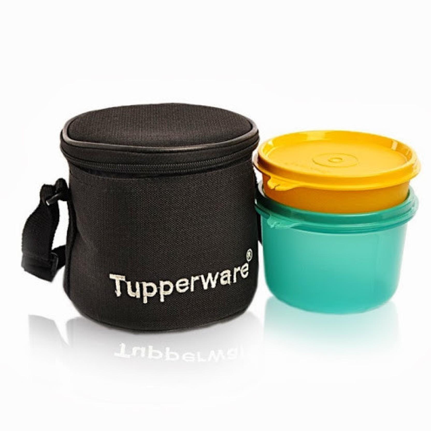 tupperware junior executive 2 containers. Black Bedroom Furniture Sets. Home Design Ideas