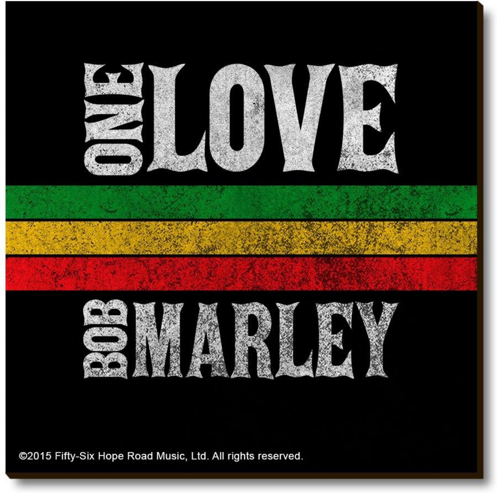 2acdfabe13d Bravado Bob Marley One Love Fridge Magnet