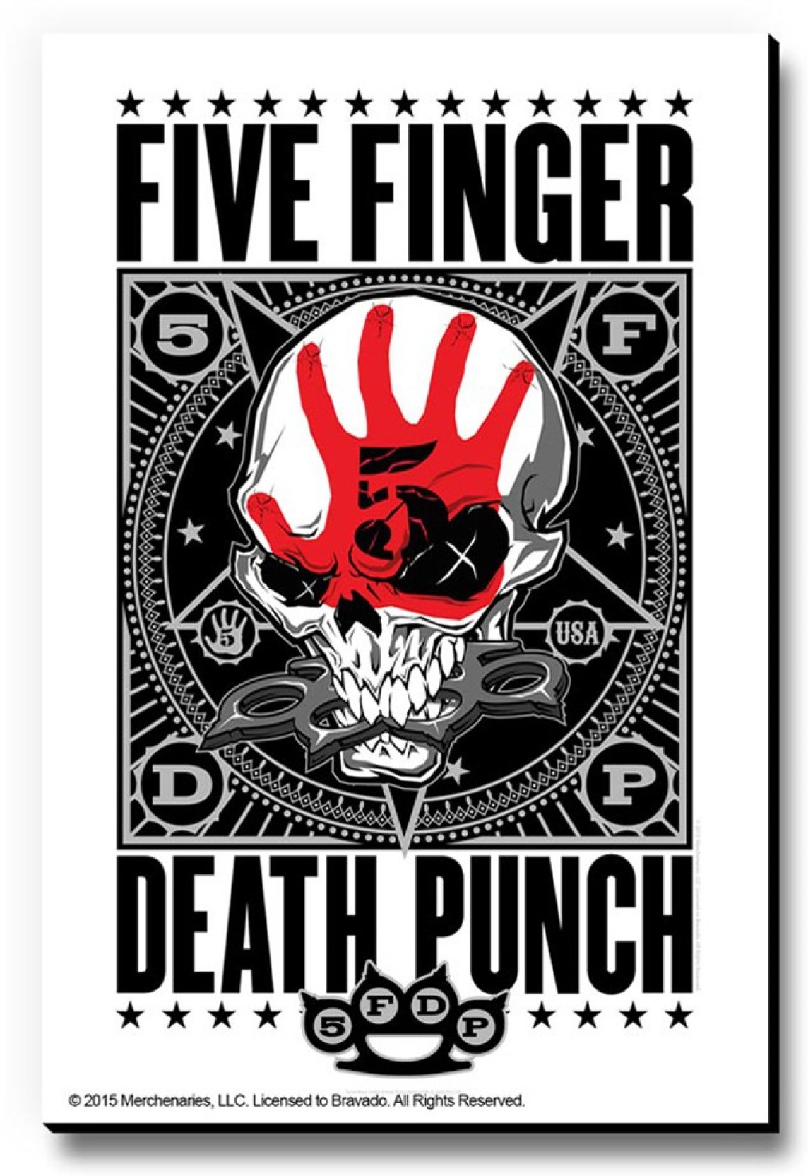 Bravado Five Finger Death Punch Usa Fridge Magnet Door Magnet