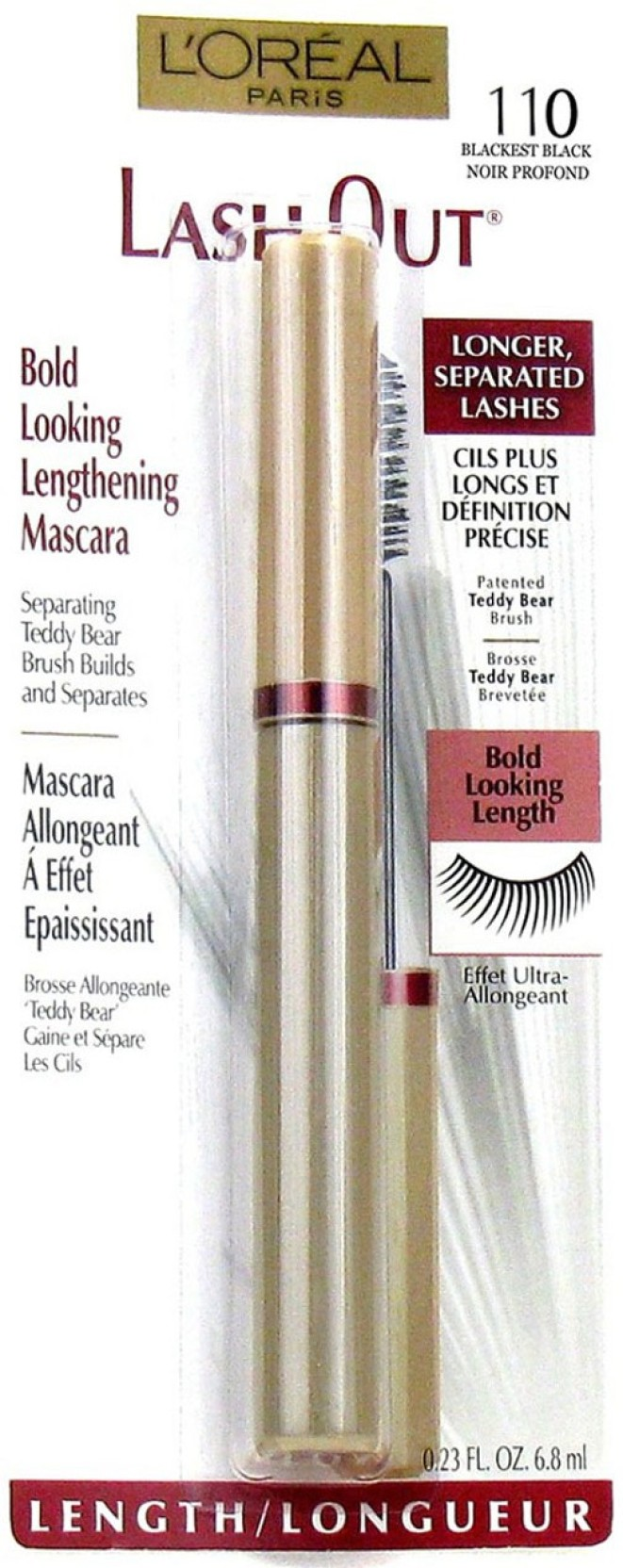 97f42434bd1 L'Oreal Paris Lash Out Bold Looking Length Mascara 6.8 ml - Price in ...