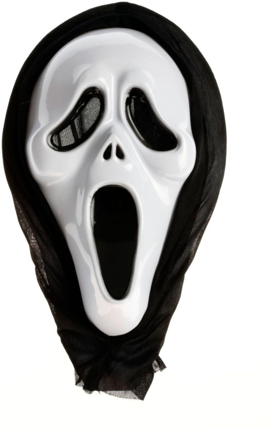 mohini creations halloween white scary party ghost mask type 03