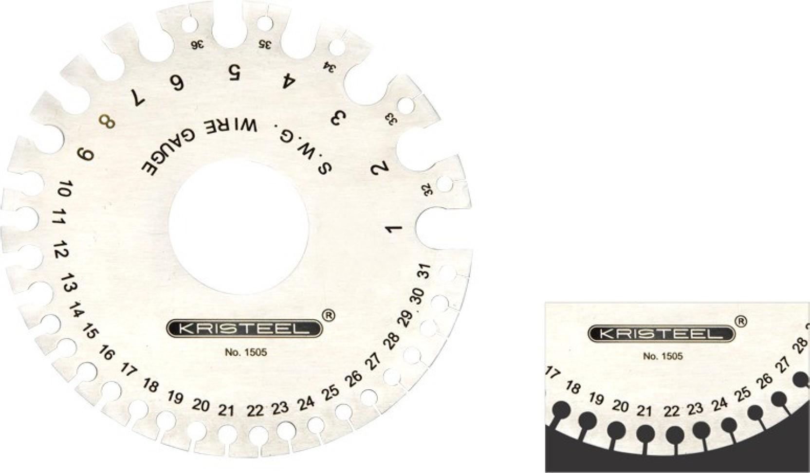 Kristeel Swg Round Wire Gauge Multiple Unit Measuring Fuel Wiring Diagram Diamante Wheel
