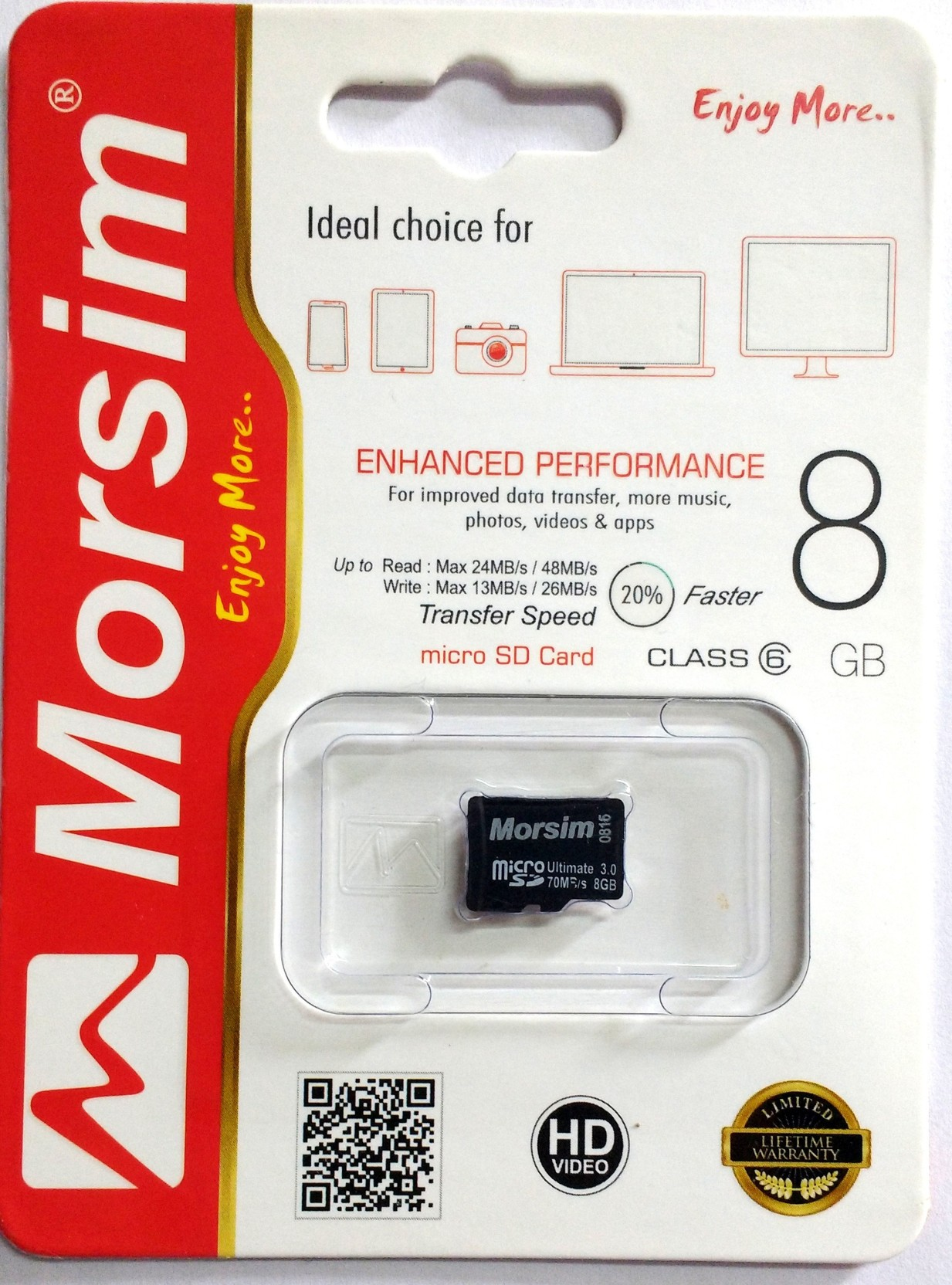 Morsim 8 Gb Microsd Card Class 6 48 Mb S Memory Samsung Micro Sd 4gb 10 Essential On Offer