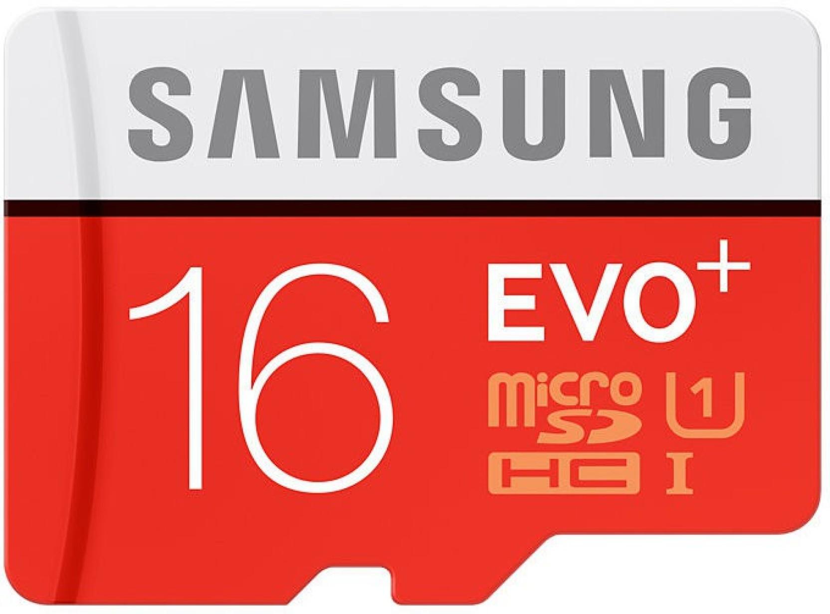 Samsung Evo Plus 16 Gb Microsdhc Class 10 80 Mb S Memory Card Sandiskultra Microsd 32gb 48mbps Add To Cart