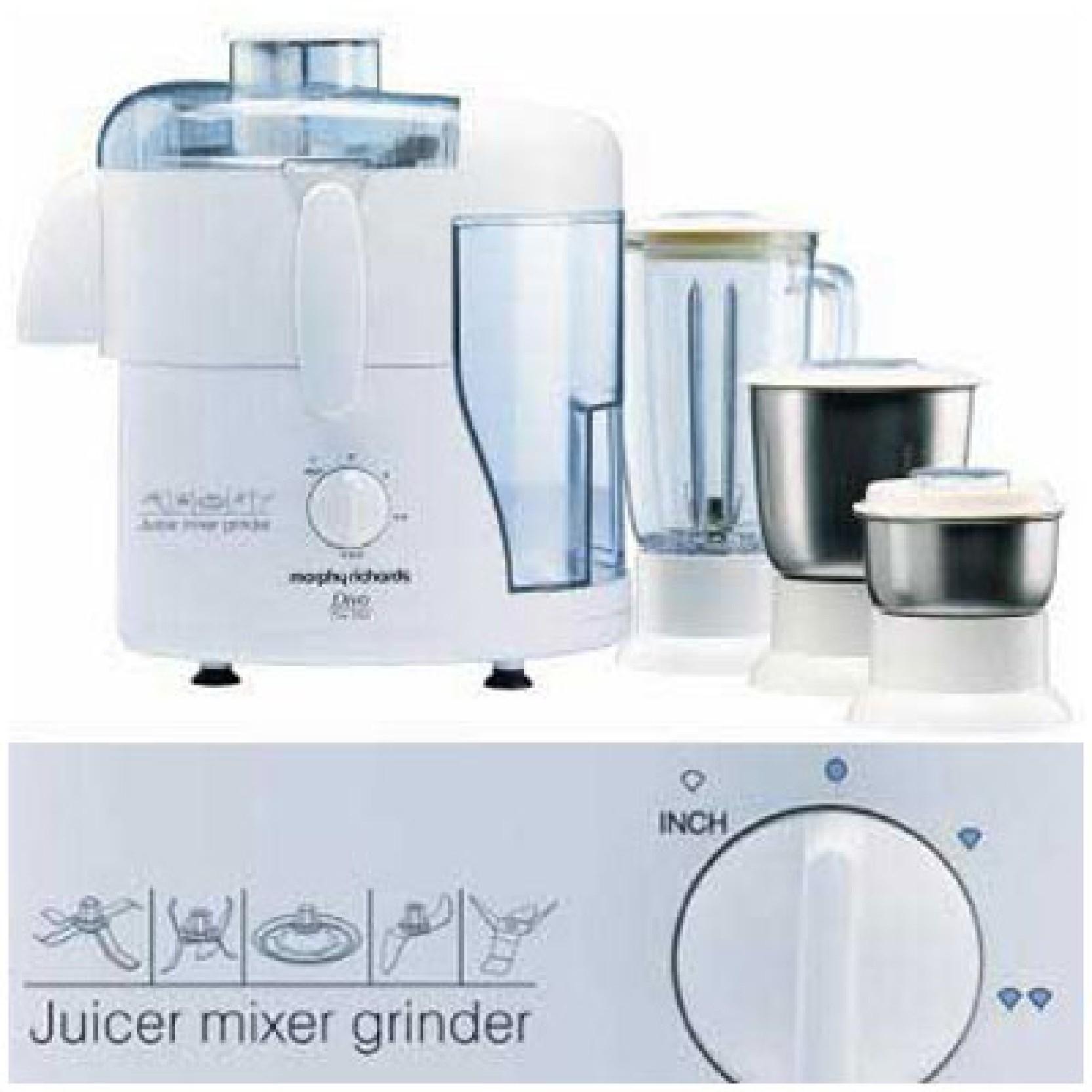 Morphy Richards Mixer Grinder Juicer: The Star 500 W Juicer Mixer Grinder