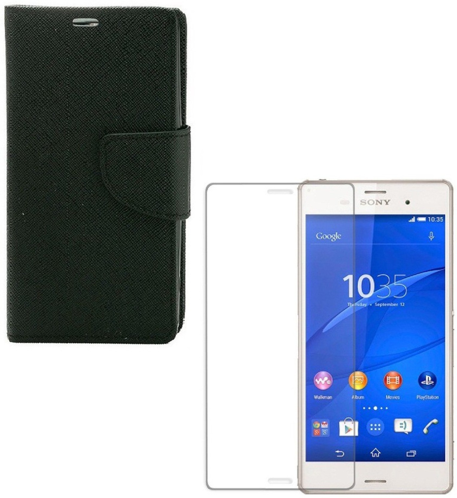 MOBIMAX Case Accessory Combo for Sony Xperia Z3 Price in India - Buy