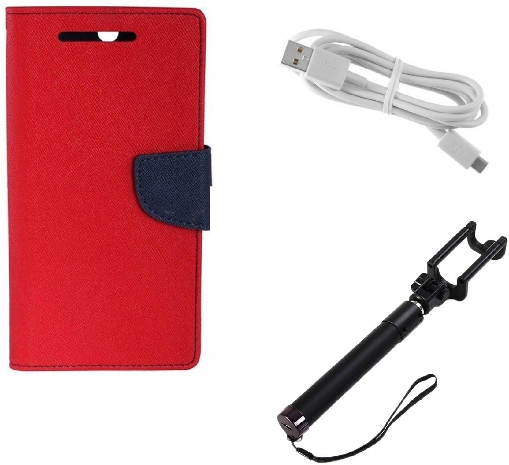 Yucapop Cover Accessory Combo For Lenovo A2020 Price In India Buy White Share