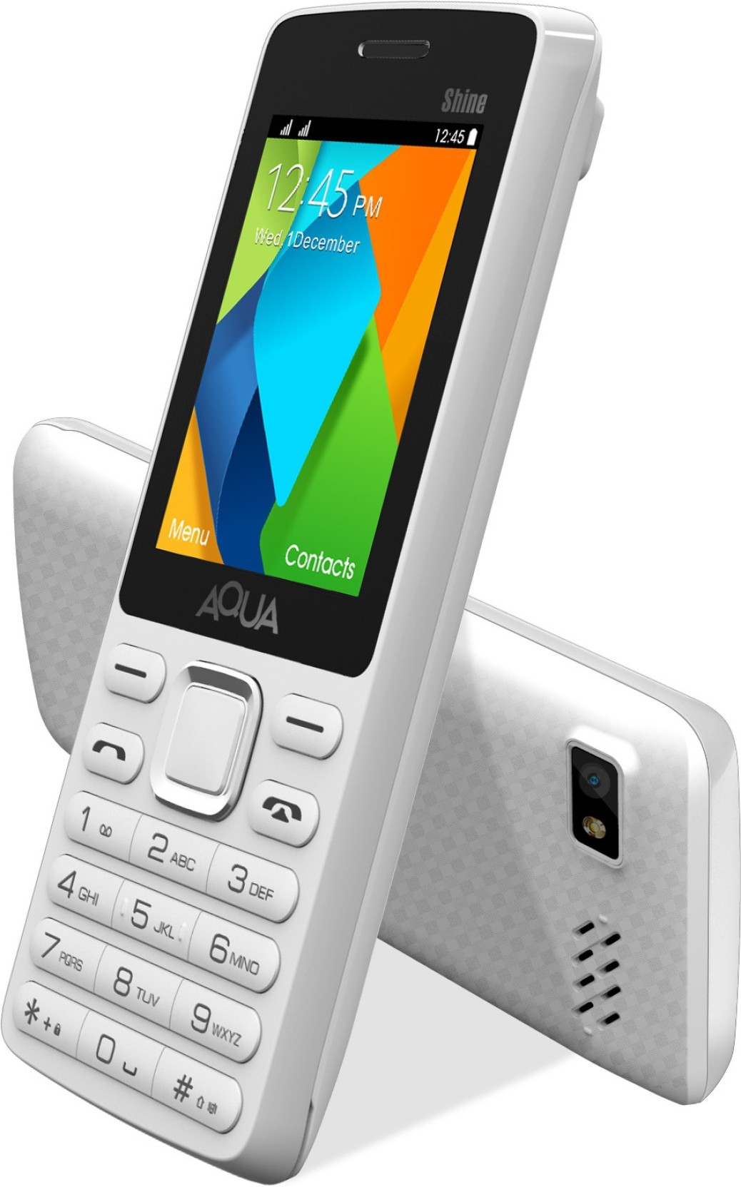 Aqua Shine Dual Sim Basic Mobile Phone Online At Best Price Only Lcd Touchscreen Oppo U705 U7015 White Home