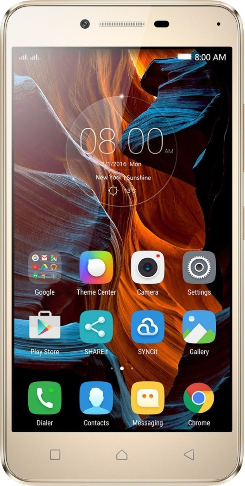 Lenovo Vibe K5 Plus (Gold, 16 GB) Online at Best Price Only On ...