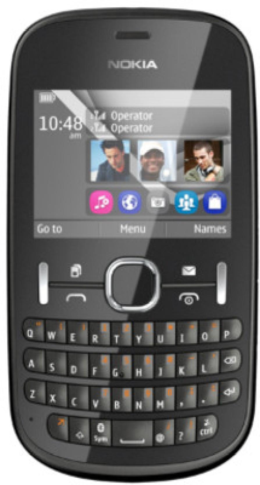 Nokia Asha 200. Compare