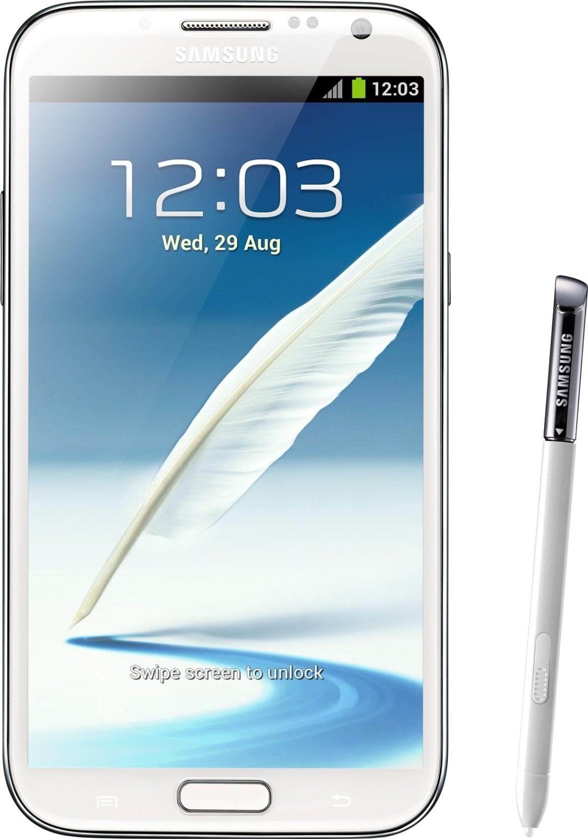 Samsung Galaxy Note 2 Marble White 16 Gb Online At Best Price Xiaomi Redmi Ram Internal Compare