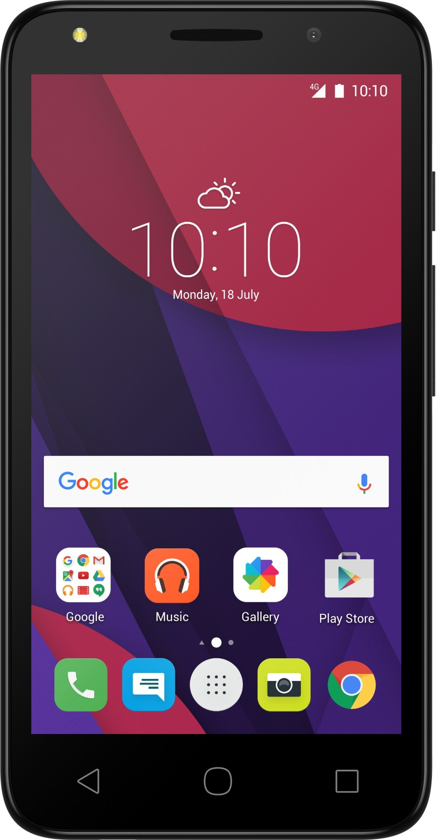 Alcatel Pixi4 Volcano Black 8 Gb Online At Best Price Only On Hp Slate 7 Voicetab 16 3g Silver Add To Cart