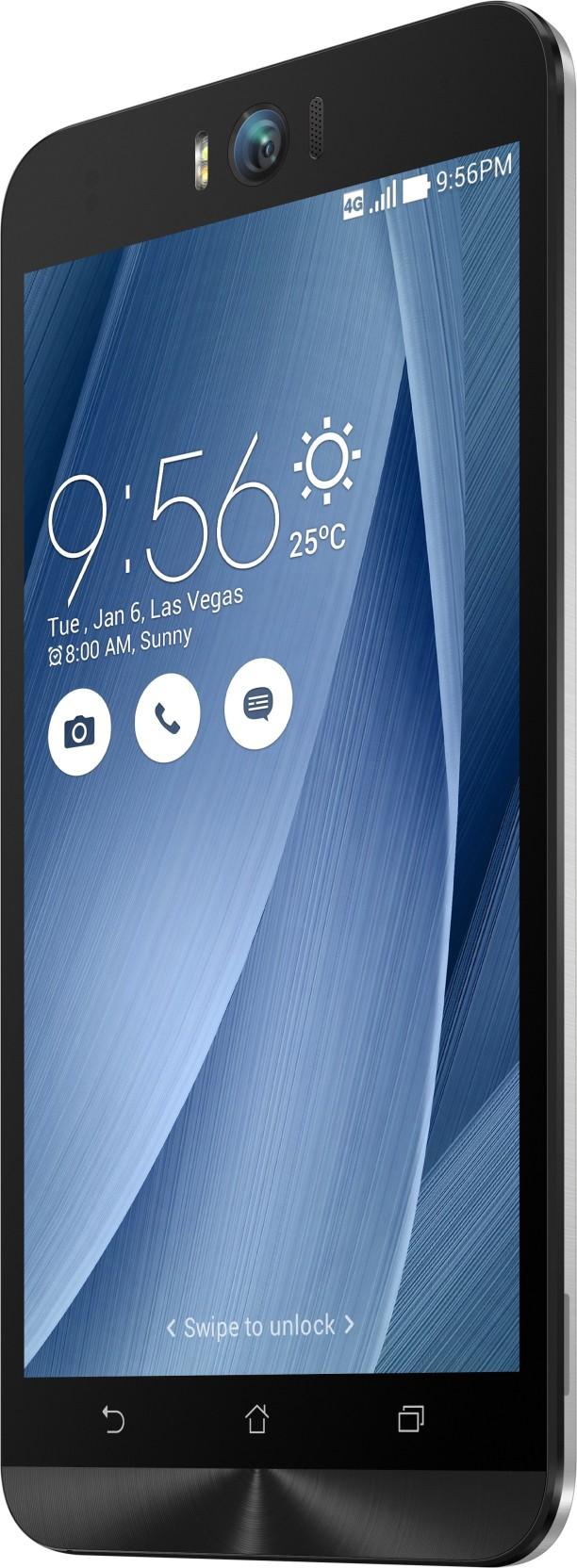 Asus Zenfone Selfie (Silver, 16 GB)(3 GB RAM) for ₹11,499 at flipkart