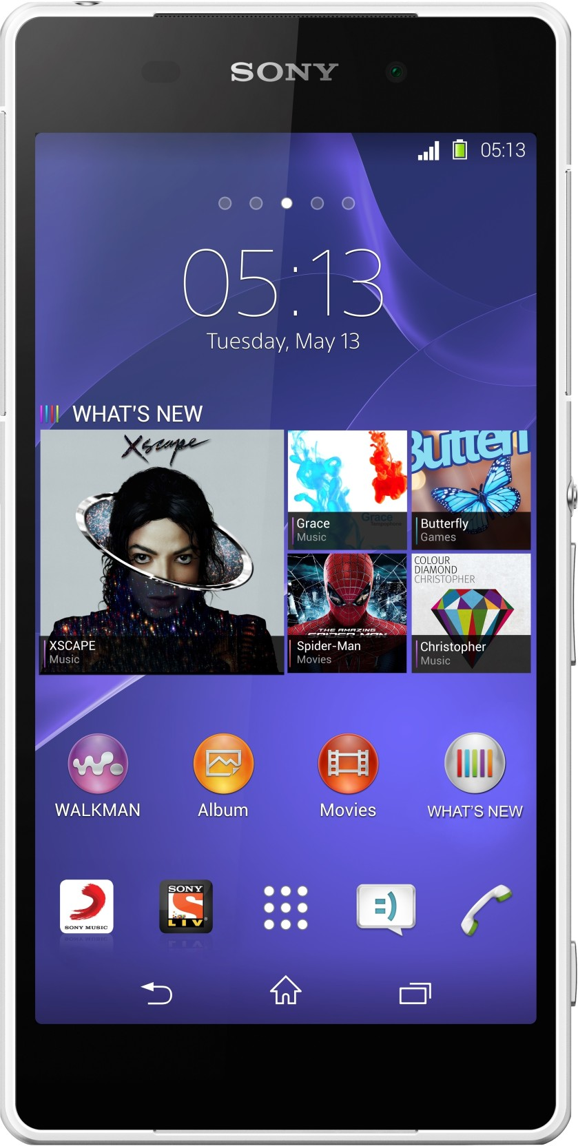 Sony Xperia Z2 White 16 Gb Online At Best Price Only On X Performance Single Bekas Home