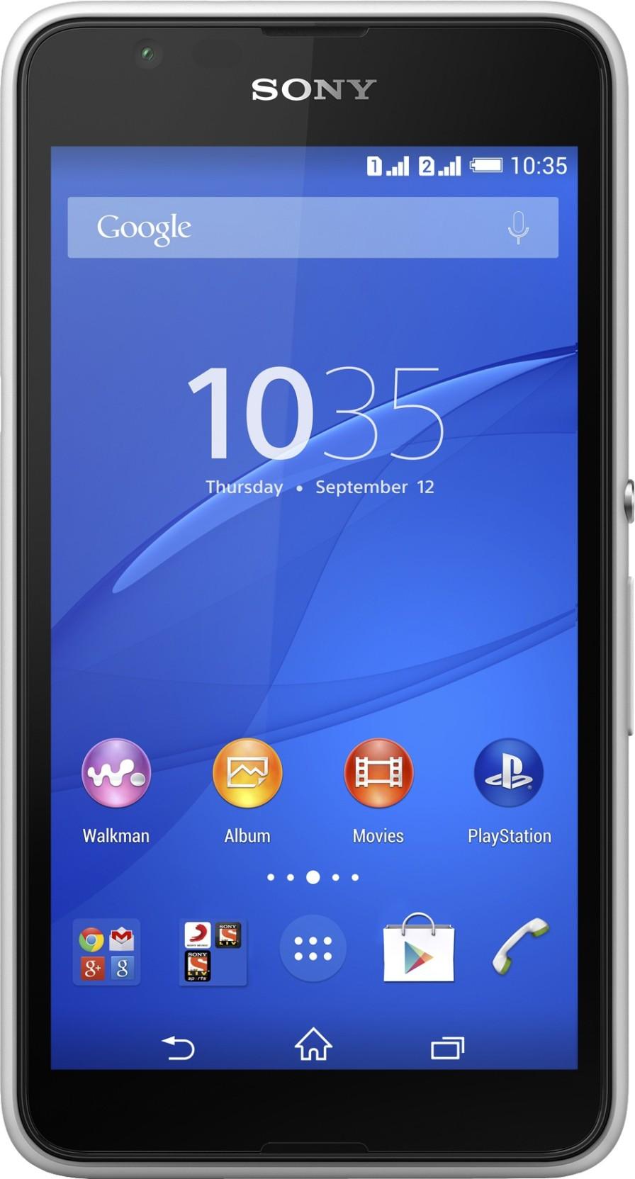 Sony Xperia E 4g Dual Buy Sony Xperia E 4g Dual White