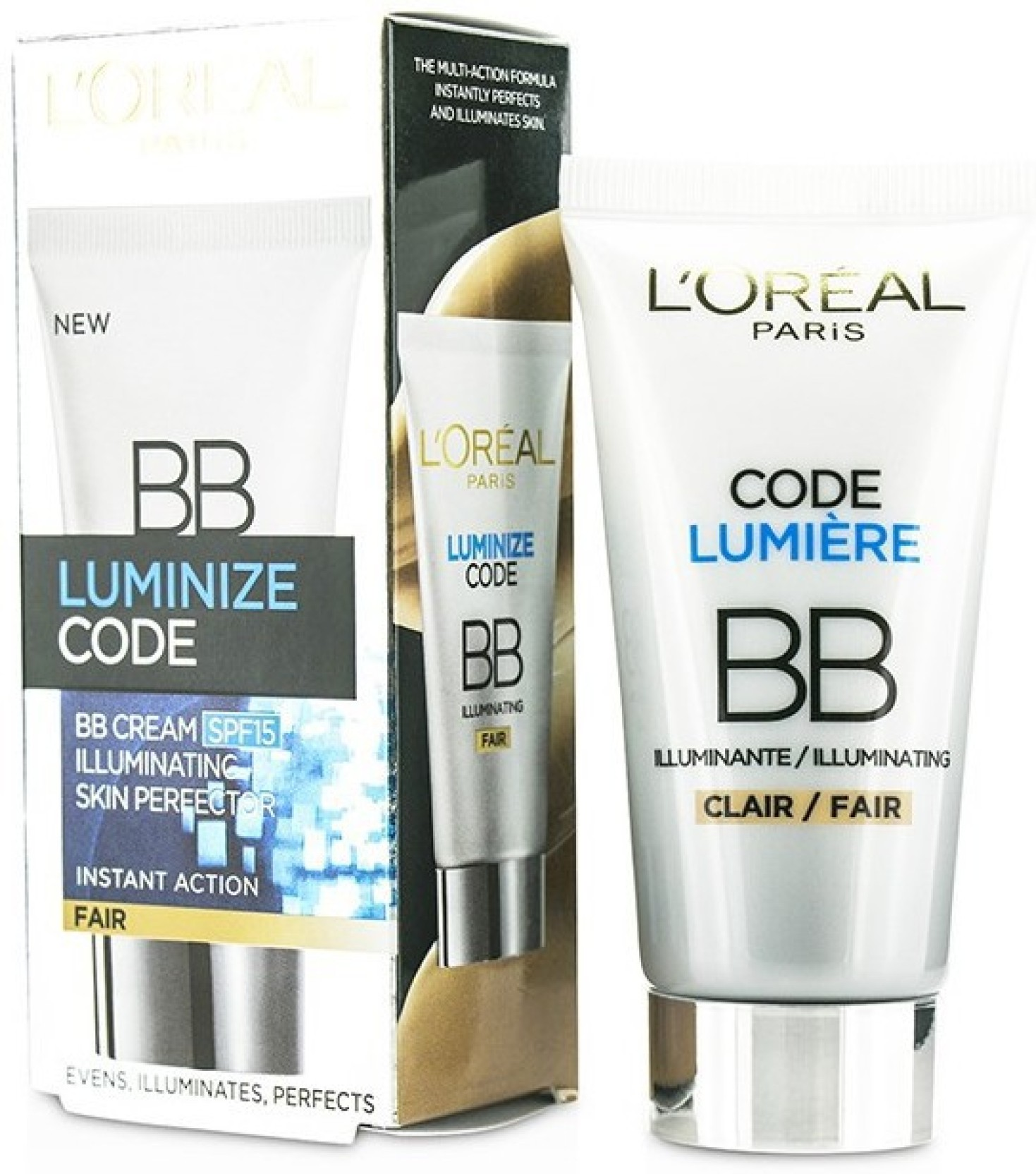 Loreal Paris Luminize Code Skin Perfector Bb Cream Spf15 Fair