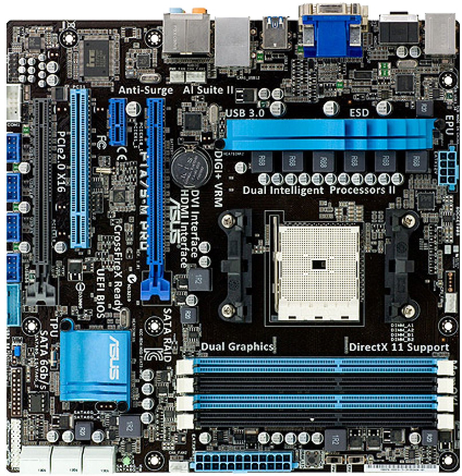 Asus F1A75-M PRO Motherboard - Asus : Flipkart com