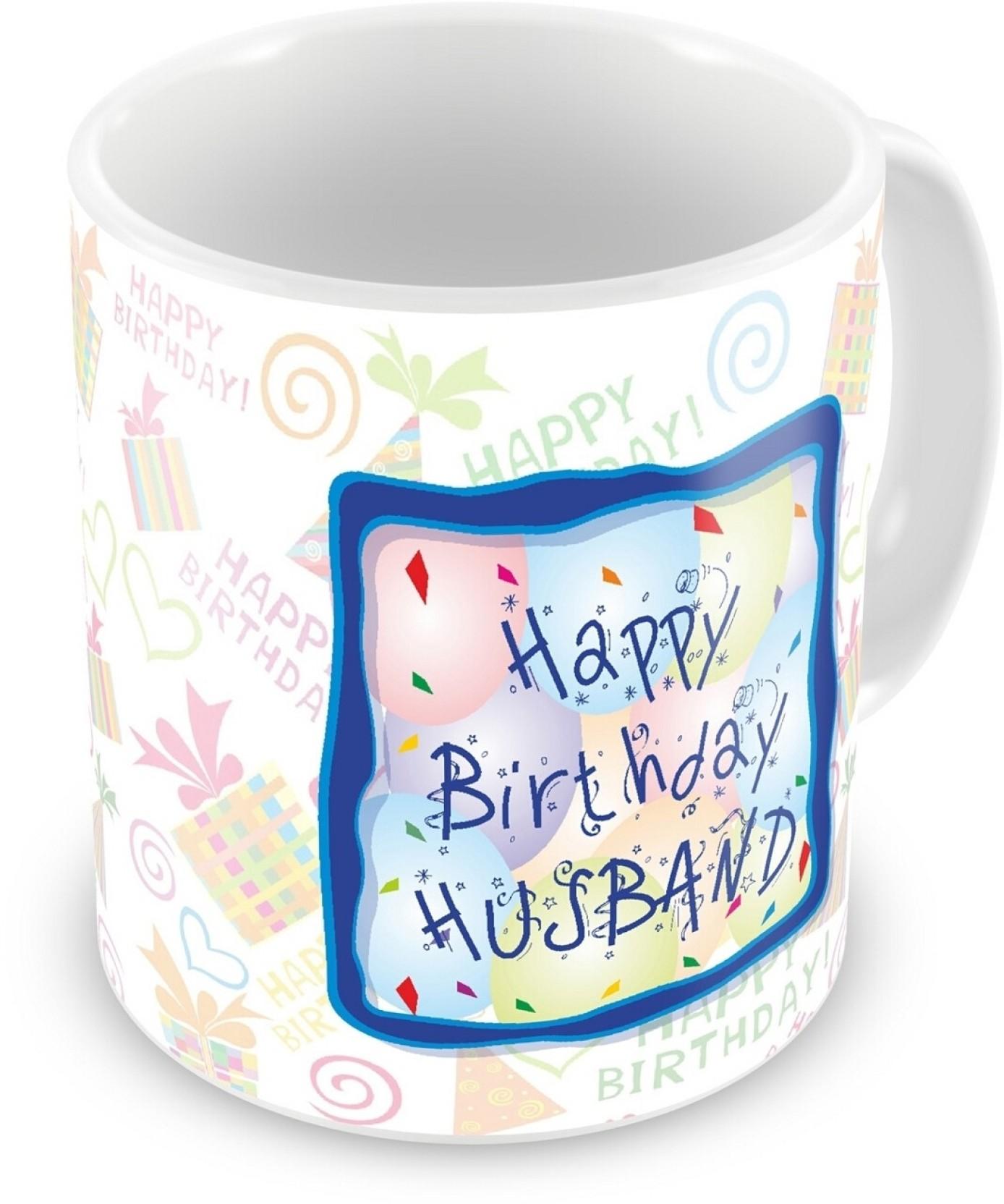 Everyday Gifts Happy Birthday Gift For Husband Ceramic Mug