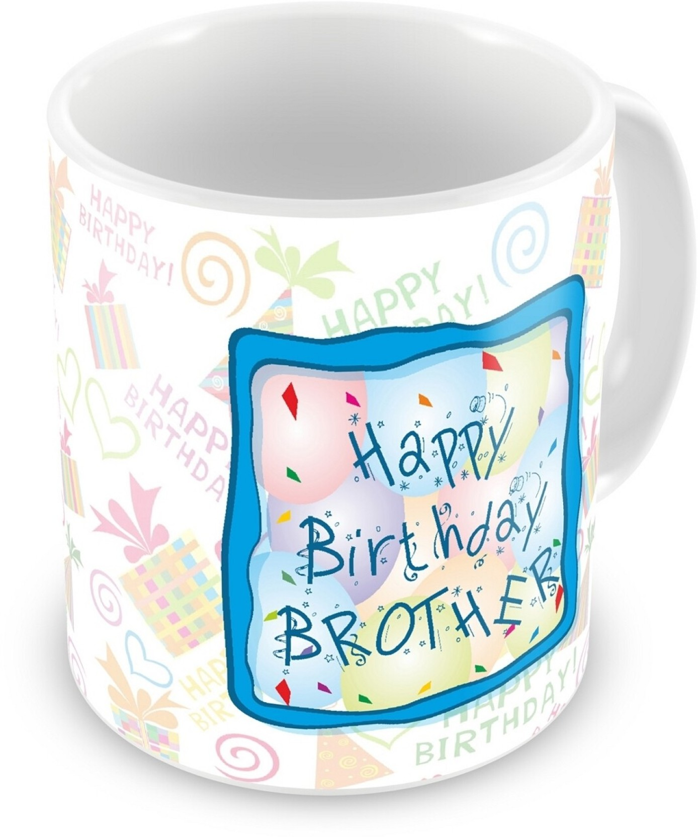 Everyday gifts happy birthday gift for brother ceramic mug buy everyday gifts happy birthday gift for brother ceramic mug share negle Images