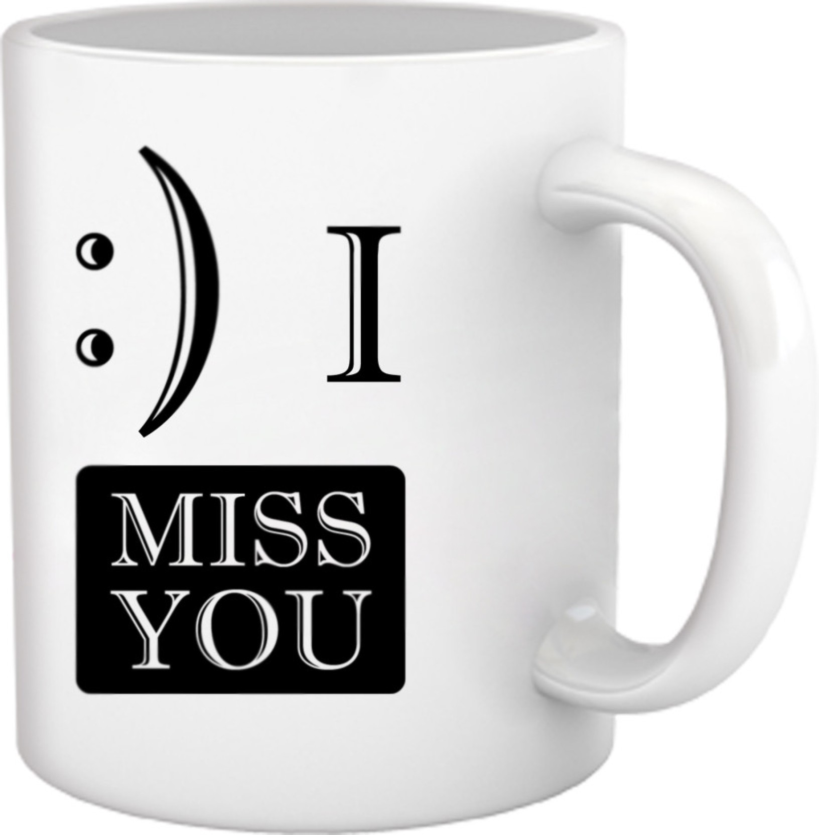 Tied Ribbons I Miss You Gifts For Best Friend Forever Ceramic Mug Price In India