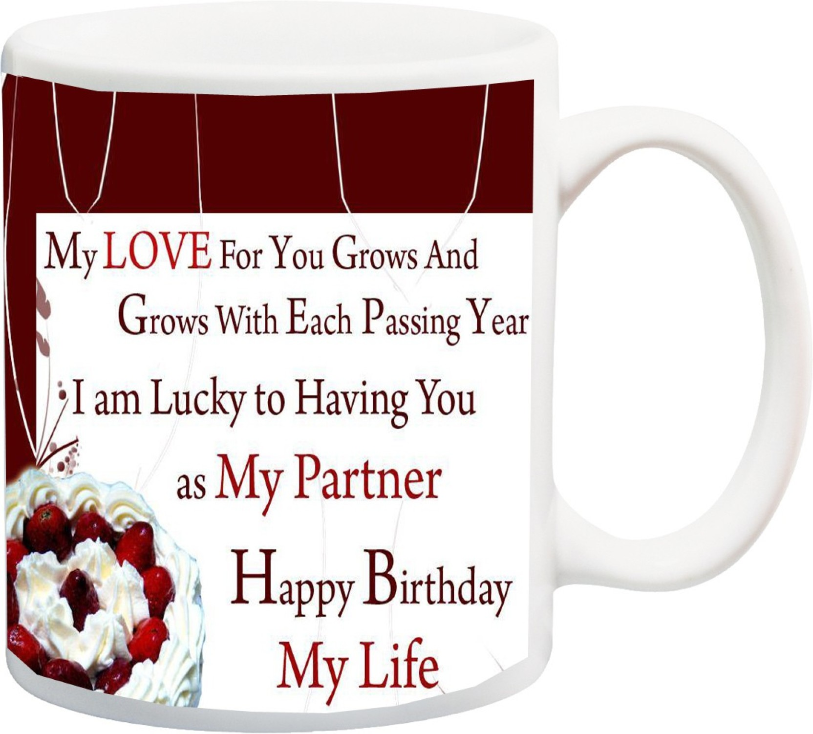 ME&YOU Gift for Happy Birthday Wife hasbeand My love for you as me