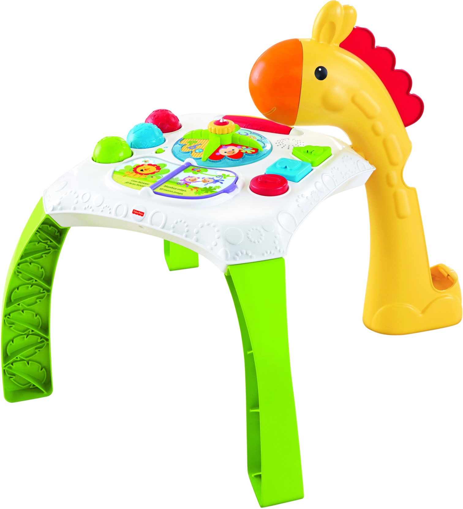 Fisher Price Animalfriends Learning Table Infant Toaster Home