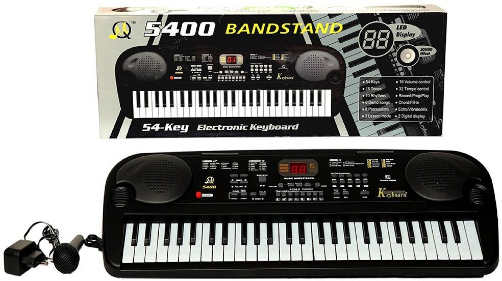 Royle Katoch Electronic Keyboard 54 Key Musical Piano With